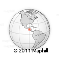 Outline Map of Apopa