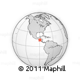 Outline Map of Delgado