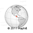 Outline Map of Ilopango