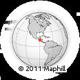 Outline Map of Mejicanos