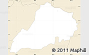 Classic Style Simple Map of Santa Clara
