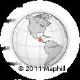 Outline Map of Acajutla