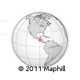 Outline Map of Santa Catarina Masahuat