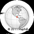 Outline Map of Santo Domingo De Guzman