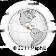 Outline Map of El Triunfo