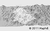 Gray Panoramic Map of Asmat