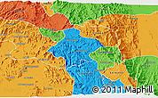Political 3D Map of Elabered