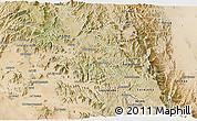 Satellite 3D Map of Elabered