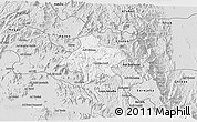 Silver Style 3D Map of Elabered