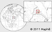 Blank Location Map of Gheleb