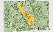 Savanna Style 3D Map of Habero