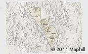 Shaded Relief 3D Map of Habero, lighten