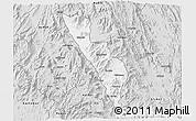 Silver Style 3D Map of Habero