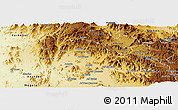 Physical Panoramic Map of Hagaz