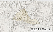 Shaded Relief 3D Map of Halhal, lighten