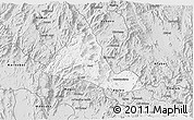 Silver Style 3D Map of Halhal