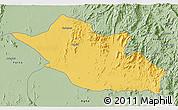 Savanna Style 3D Map of Kerkebet