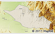 Shaded Relief 3D Map of Kerkebet, physical outside