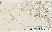 Shaded Relief 3D Map of Kerkebet