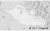 Silver Style 3D Map of Kerkebet