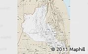 Classic Style Map of Anseba