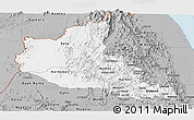 Gray Panoramic Map of Anseba