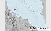 Gray 3D Map of Archipelagos