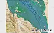 Satellite 3D Map of Archipelagos