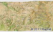 Satellite 3D Map of Areza