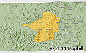 Savanna Style 3D Map of Areza