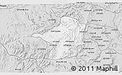 Silver Style 3D Map of Areza
