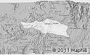 Gray 3D Map of Debarwa