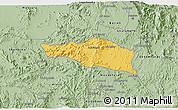 Savanna Style 3D Map of Debarwa
