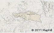 Shaded Relief 3D Map of Debarwa, lighten