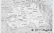 Silver Style Map of Debub