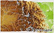 Physical 3D Map of Sen'afe