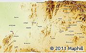 Physical 3D Map of Akurdet