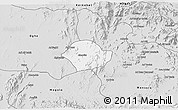 Silver Style 3D Map of Akurdet