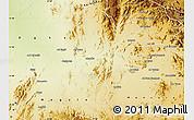 Physical Map of Akurdet