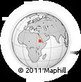 Outline Map of Barentu