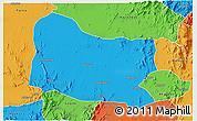Political 3D Map of Dghe