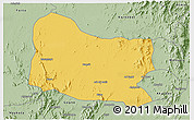 Savanna Style 3D Map of Dghe