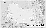 Silver Style 3D Map of Dghe