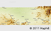 Physical Panoramic Map of Dghe