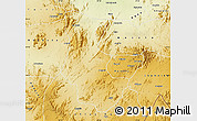 Physical Map of Gogne