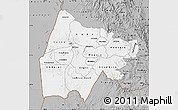 Gray Map of Gash-Barka