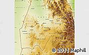 Physical Map of Gash-Barka