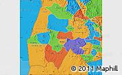 Political Map of Gash-Barka