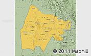 Savanna Style Map of Gash-Barka