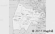 Silver Style Map of Gash-Barka